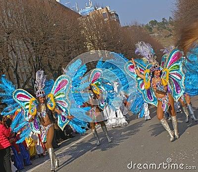 Carnival - Brazilian dancers