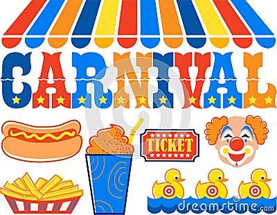 Carnival Clipart/eps
