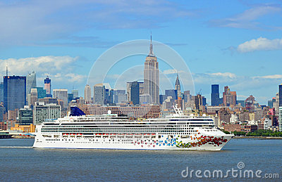 Carnival Cruise Ship Editorial Image