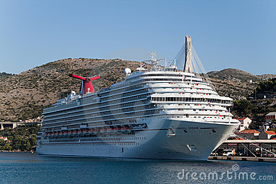 Carnival Dream Editorial Photography