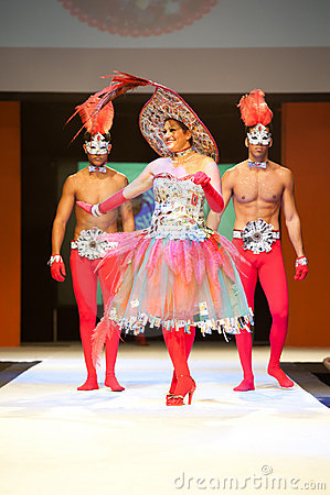 Carnival Fashion Week Editorial Image