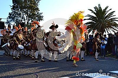 Carnival of Figueira da Foz conquerors Editorial Image