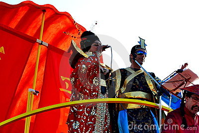 Carnival of Figueira da Foz King and Queen Editorial Image