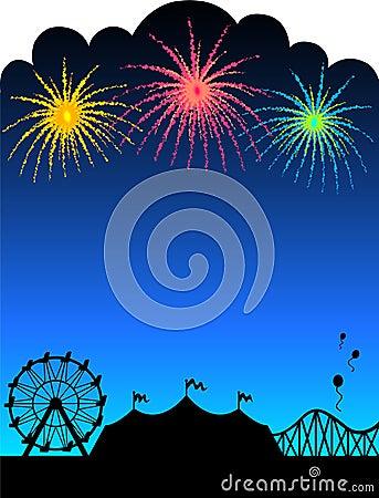 fireworks background image. FIREWORKS BACKGROUND/EPS