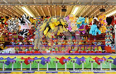 Carnival Games Editorial Stock Photo