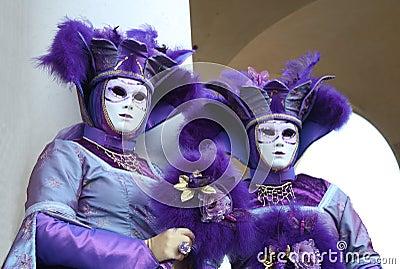 Carnival goers