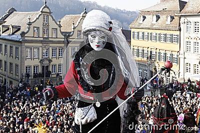 Carnival - Hallia VENEZIA Editorial Stock Photo