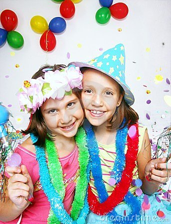 Carnival little girls