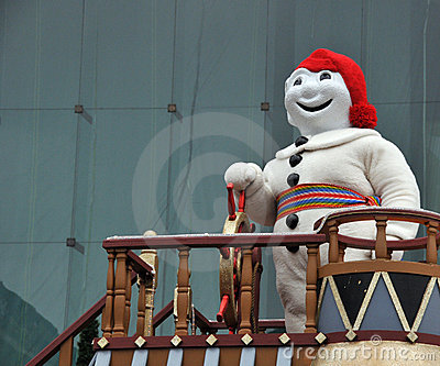 Carnival mascot Editorial Photo