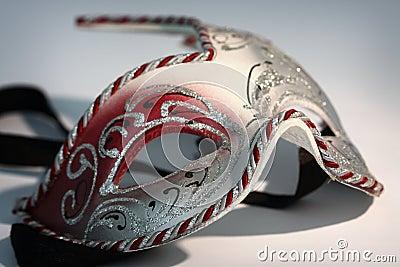 Carnival mask close up