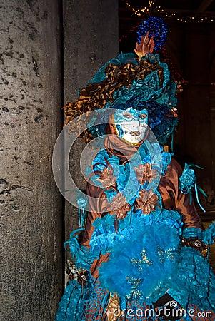 Carnival Mask in Venezia Editorial Stock Photo