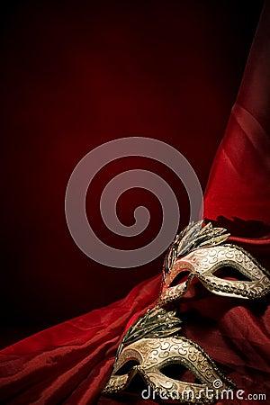 Free Carnival Masks Royalty Free Stock Photos - 17443608