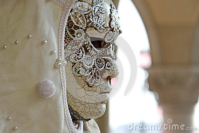 Carnival masks of Carnival of Venice Editorial Photography