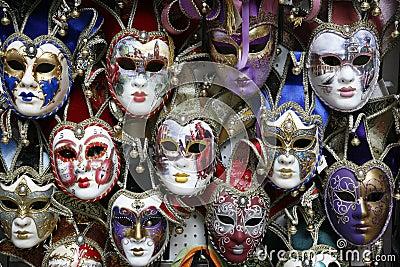Carnival masks Venice