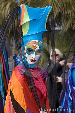 Carnival of Nice Editorial Stock Photo
