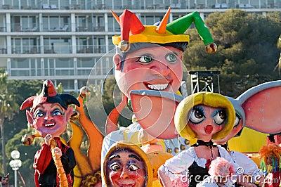 Carnival of Nice, France.