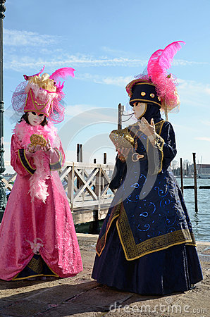 Free Carnival Of Venice Stock Image - 29192241