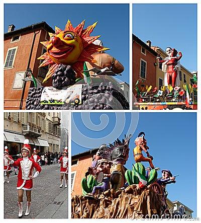 Carnival parade Editorial Stock Image