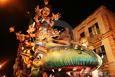 Carnival parade Editorial Image