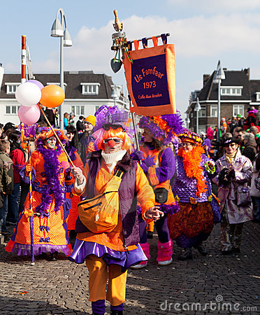 Carnival parade of Maastricht 2011 Editorial Photography