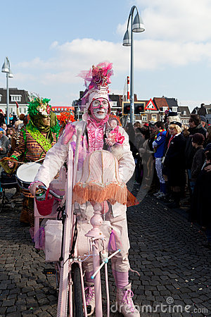 Carnival parade of Maastricht 2011 Editorial Image