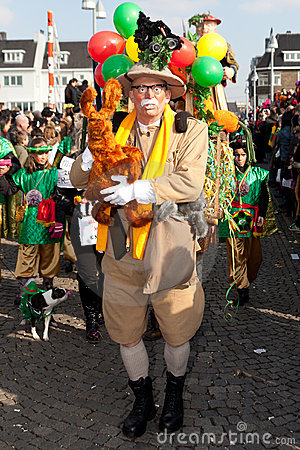 Carnival parade of Maastricht 2011 Editorial Photo
