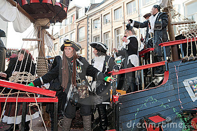 Carnival parade of Maastricht 2011 Editorial Stock Image