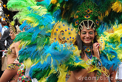 Carnival Parade in Warsaw Editorial Stock Image