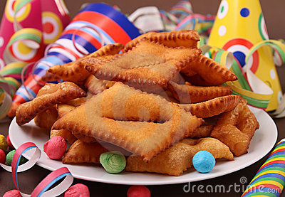 Carnival pastry