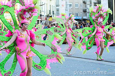 Carnival Editorial Stock Photo