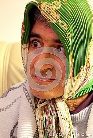 Carnival Portraits-Funny Man Masked