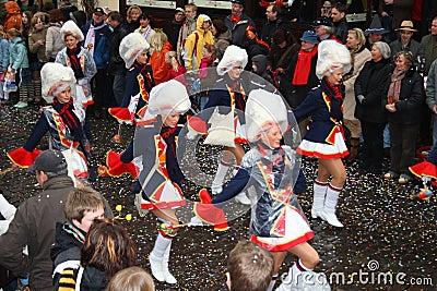 Carnival procession Editorial Stock Image