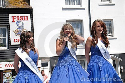Carnival Queen, Hastings Editorial Photo