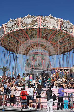 Carnival Ride From Neverland Ranch Royalty Free Stock Photography - Image: 26818397