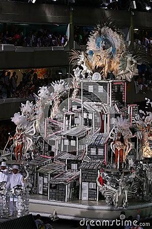 Carnival in Rio Editorial Image