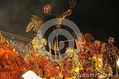 CARNIVAL RIO DE JANEIRO - FEBRUARY20: Editorial Image