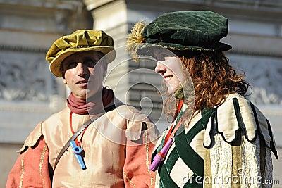 Carnival in Rome Editorial Image