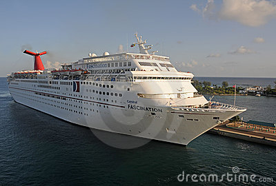 Carnival s Fascination ship Editorial Stock Image