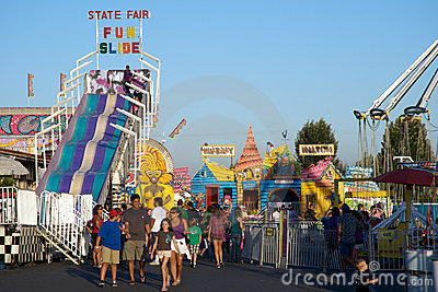 Carnival in Seal Beach Editorial Stock Image