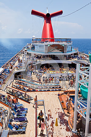 The Carnival Ship Freedom Editorial Stock Image