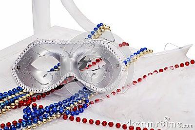 Carnival silver Mask