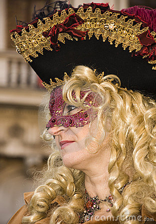 The Carnival of Venice Editorial Stock Photo
