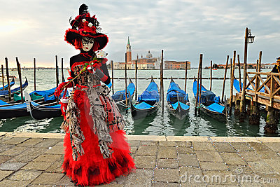 Carnival of Venice Editorial Stock Image
