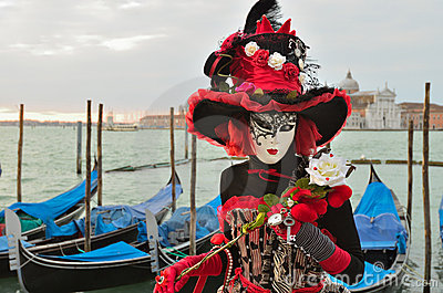 Carnival of Venice Editorial Image