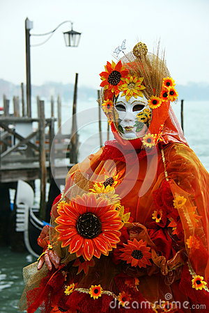 Carnival of Venice Editorial Stock Photo