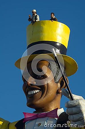 Carnival of Viareggio 2011 Editorial Photo