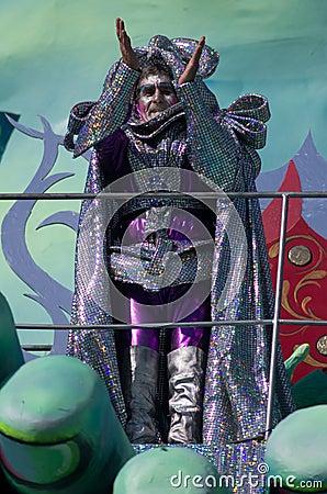 Carnival of Viareggio 2011, Italy Editorial Image