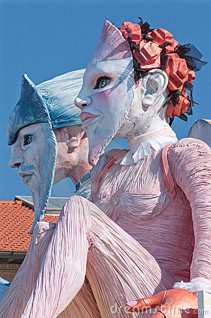 Carnival of Viareggio 2011, Italy Editorial Image