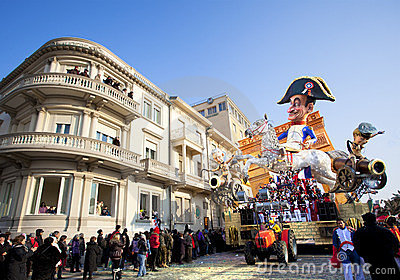 Carnival of Viareggio Editorial Stock Image