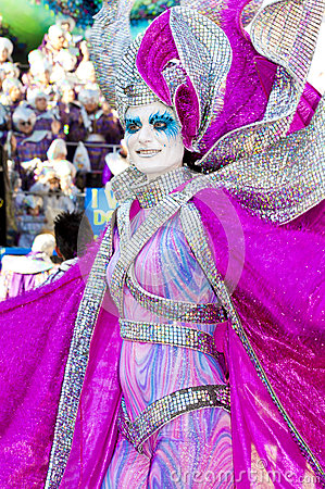 Carnival of Viareggio Editorial Image